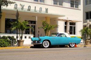 Art Deco building on Miami Beach