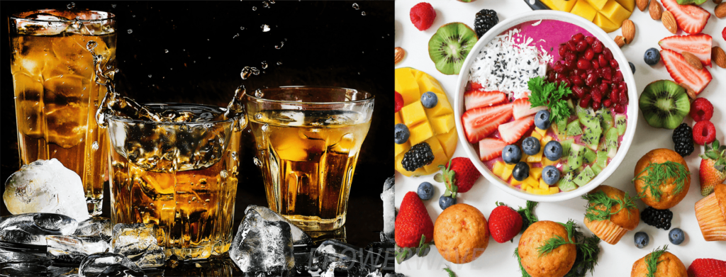 Diet and alcohol Connection