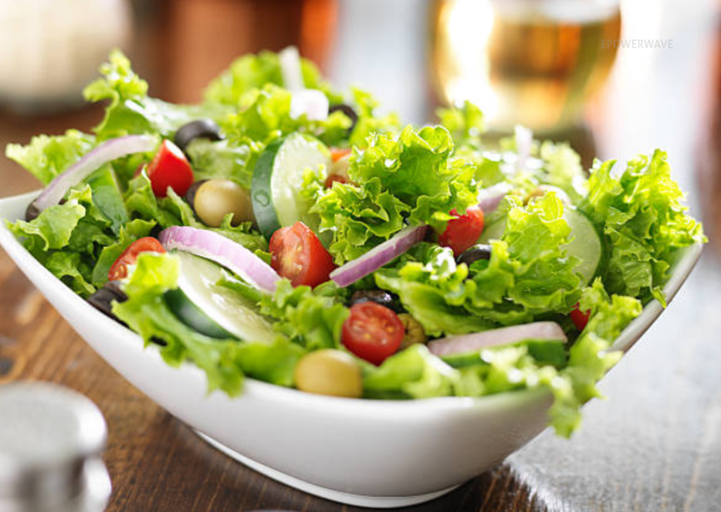 If you usually have time, it can be helpful to have easy-to-cook salads and vegetables