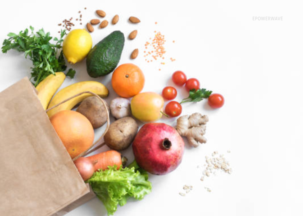 Many of the nutrients found in fruits, vegetables, whole grains, and beans improve blood flow