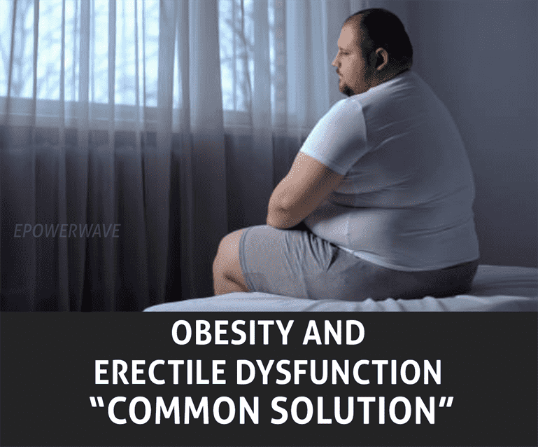 obesity and erectile dysfunction common solution